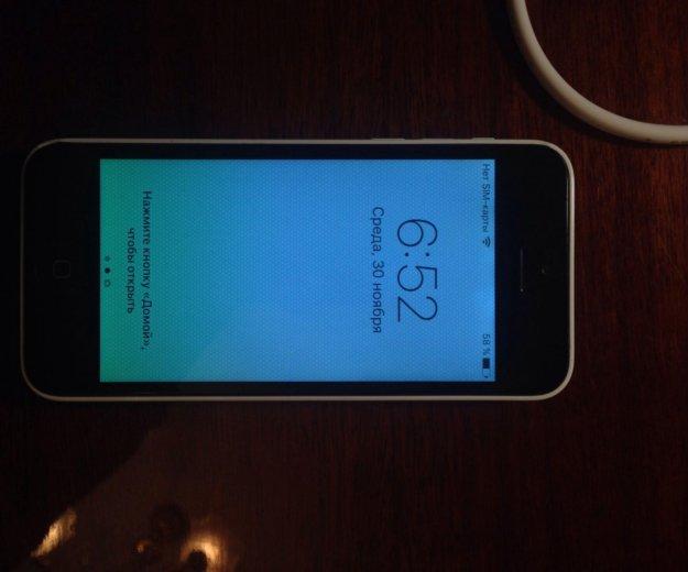Iphone 5c 32 gb white. Фото 1. Краснодар.