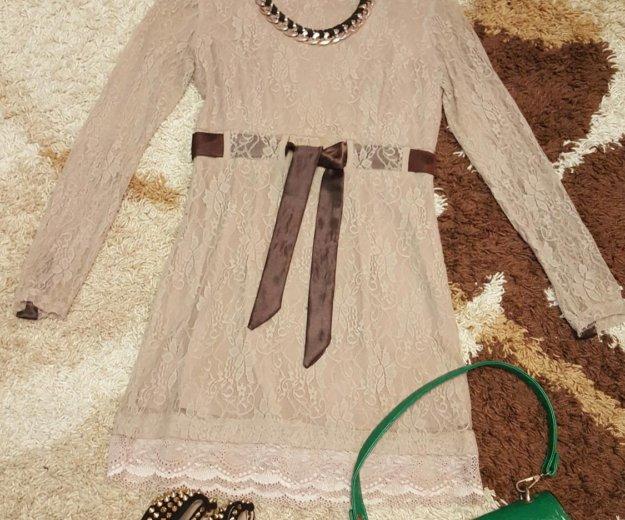 Платье гепюровое. Фото 1. Стерлитамак.