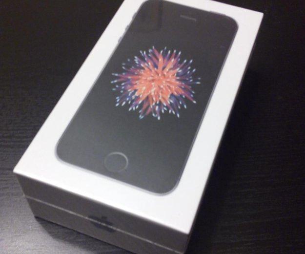 Новый iphone se 16 gb space gray. Фото 1. Новосибирск.