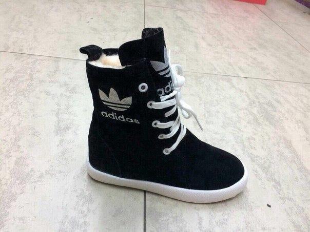Новые ботинки зима  adidas. Фото 1. Новосибирск.