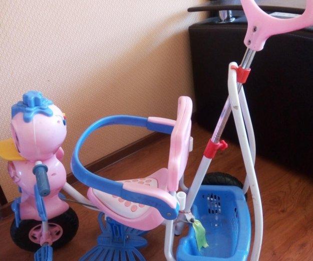 Велосипед детский трехколесный. Фото 1. Астрахань.