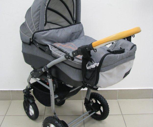 Детская коляска dpg denim 3в1. Фото 2. Тюмень.