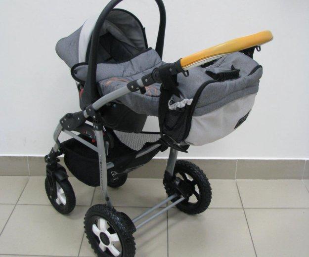 Детская коляска dpg denim 3в1. Фото 4. Тюмень.
