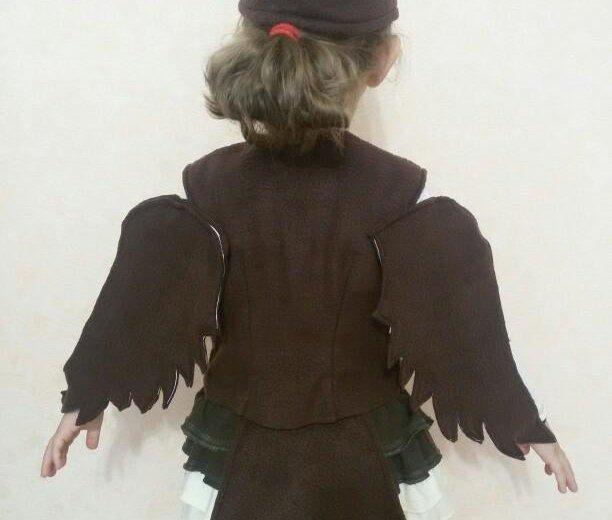 Новогодний костюм ''воробей ''. Фото 3. Тюмень.