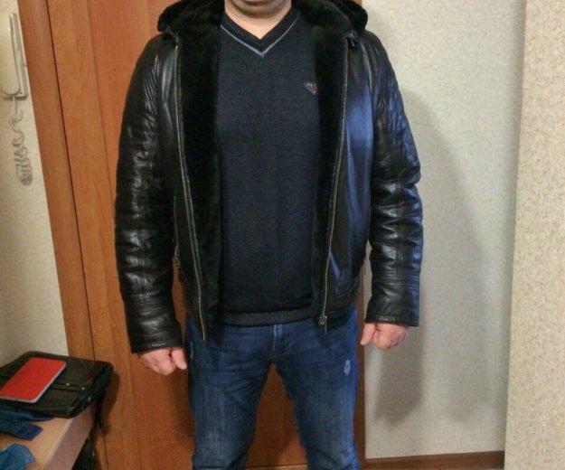 Куртка (дублёнка) мужская. Фото 1. Калуга.
