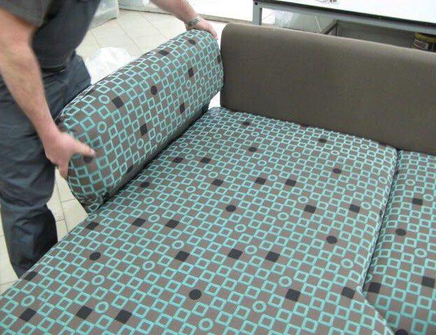 Сборка дивана. Фото 3. Реутов.