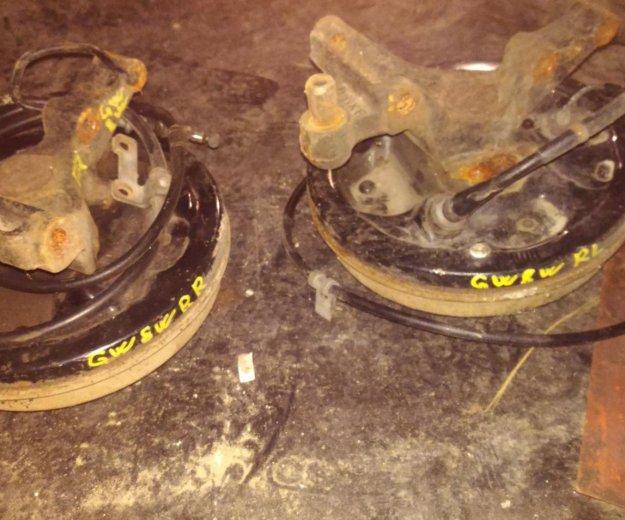 Тормозные барабаны в сборе с рычагом. Фото 1. Челябинск.