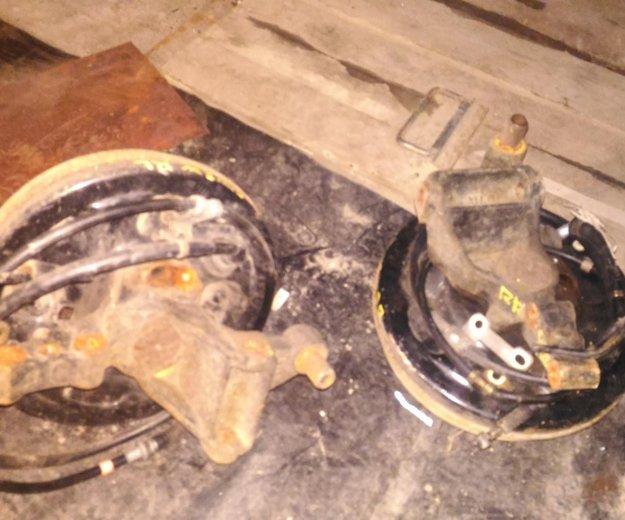 Тормозные барабаны в сборе с рычагом. Фото 2. Челябинск.