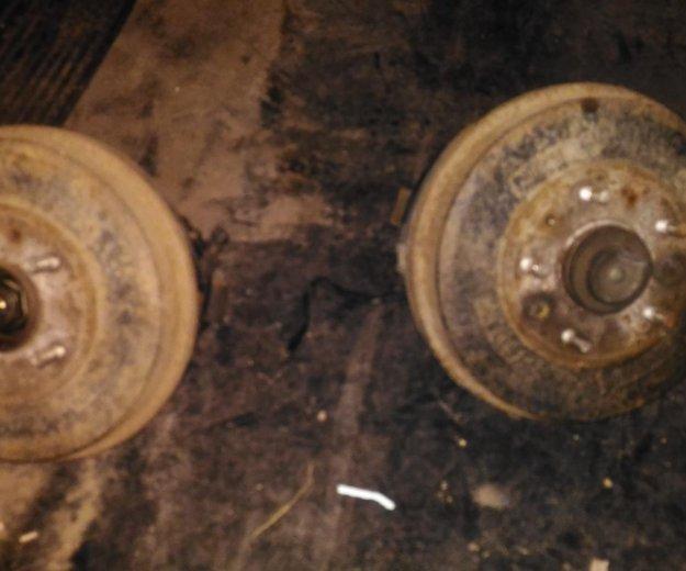Тормозные барабаны в сборе с рычагом. Фото 3. Челябинск.