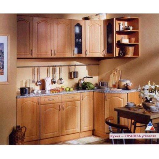 Кухня 2100х1200 трапеза вишня. Фото 1. Воркута.