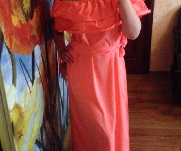 Платье с воланами. Фото 2. Москва.