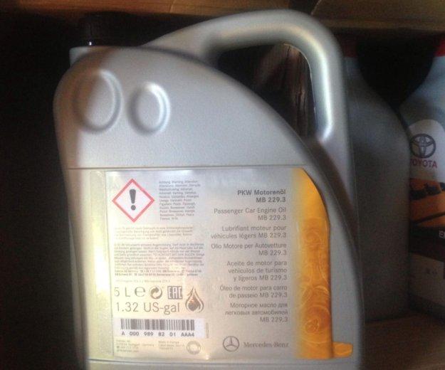 Мотрное масло mersedes. Фото 1.