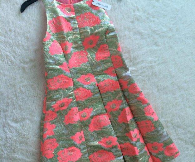 Платье из жаккарда river island. Фото 1. Самара.