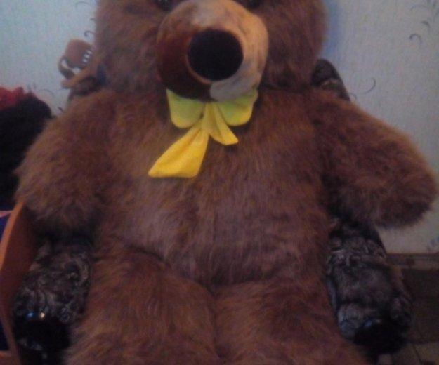 Плюшевый медведь. Фото 2. Моздок.
