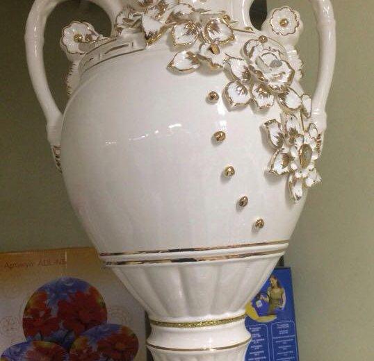 Новые напольные вазы 60 см. Фото 2. Москва.