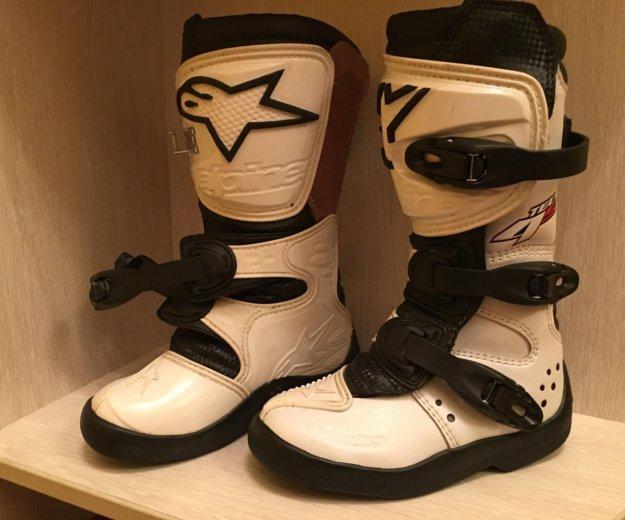 Лыжные ботинки детские. Фото 2. Троицк.