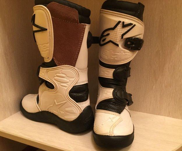 Лыжные ботинки детские. Фото 1. Троицк.