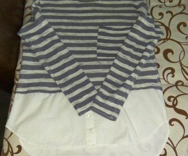 Кофта-блузка. Фото 2. Бор.