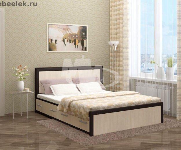 Кровать с ящиками. Фото 1. Москва.