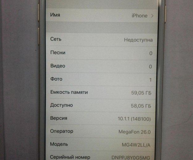 Apple iphone 6 64gb. Фото 2. Щёлково.