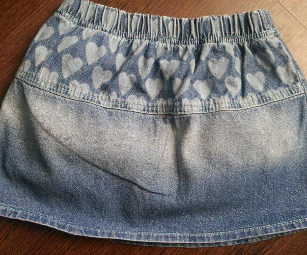 Юбка джинсовая 104см. Фото 2. Фрязино.