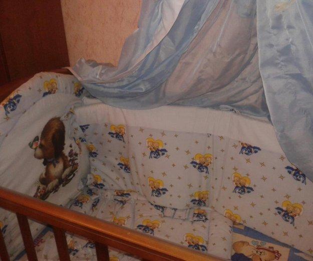 Кроватка детская+борты+матрац. Фото 2. Москва.