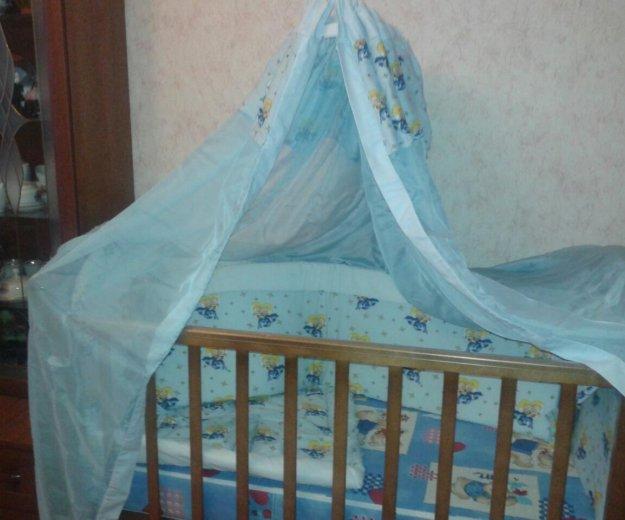 Кроватка детская+борты+матрац. Фото 3. Москва.
