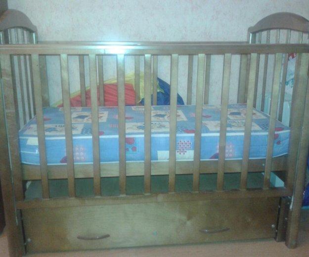 Кроватка детская+борты+матрац. Фото 4. Москва.