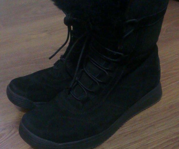 Высокие женские ботинки(новые). Фото 3. Москва.
