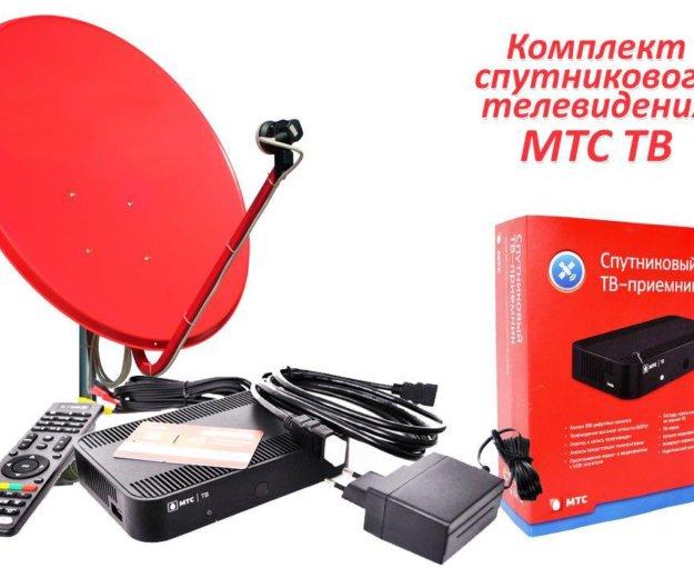 Установка спутникового телевидения. Фото 4. Грачевка.