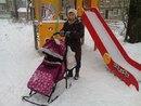 """Санки-коляска """"кристи-люкс"""". Фото 2. Пермь."""