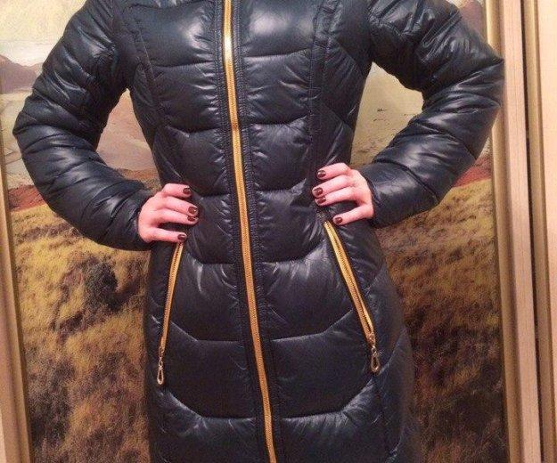 Новое зимнее пальто хлофайбер. Фото 1. Звенигород.