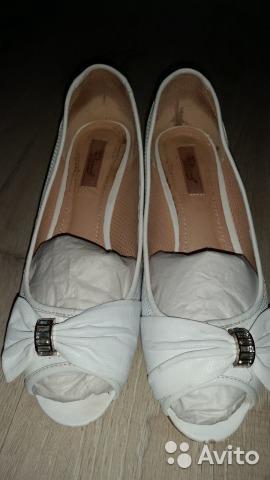 Туфли белые. Фото 3. Выборг.