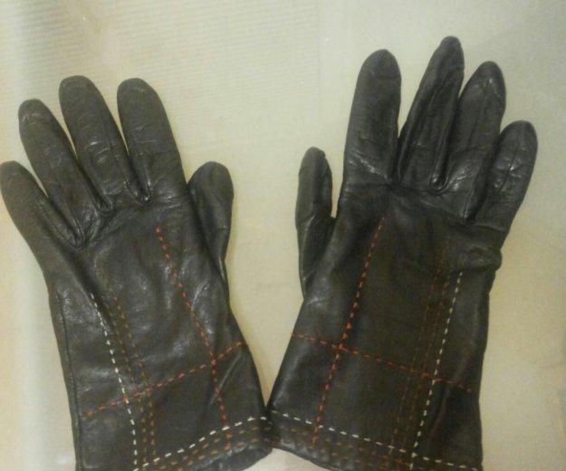 Перчатки кожаные. Фото 2. Королев.