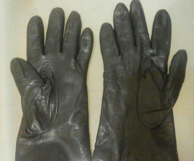 Перчатки кожаные. Фото 1. Королев.