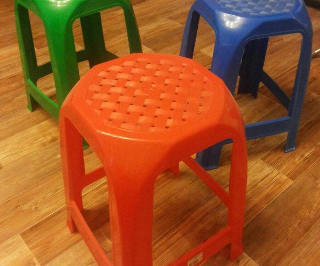 Пластиковые табуретки для детей и взрослых. Фото 1. Санкт-Петербург.