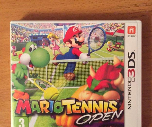 Mario tennis open nintendo 3ds. Фото 1. Люберцы.
