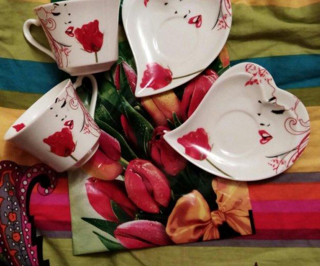 Чашки новые с коробкой. Фото 1. Каспийск.
