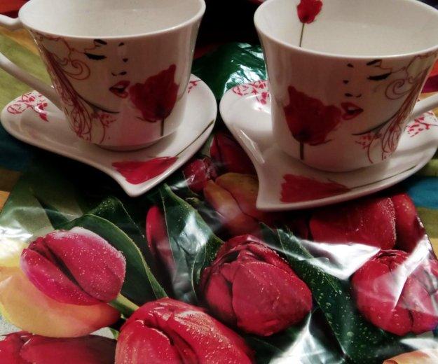 Чашки новые с коробкой. Фото 2. Каспийск.