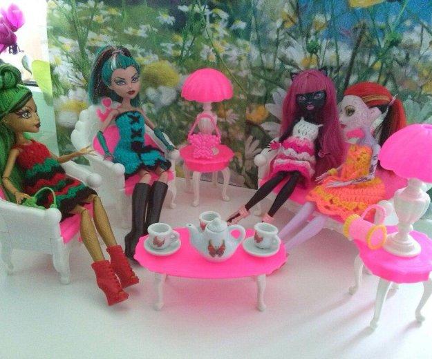 Мебель для кукол барби, monster high новая. Фото 2. Ижевск.
