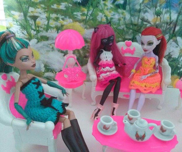 Мебель для кукол барби, monster high новая. Фото 4. Ижевск.