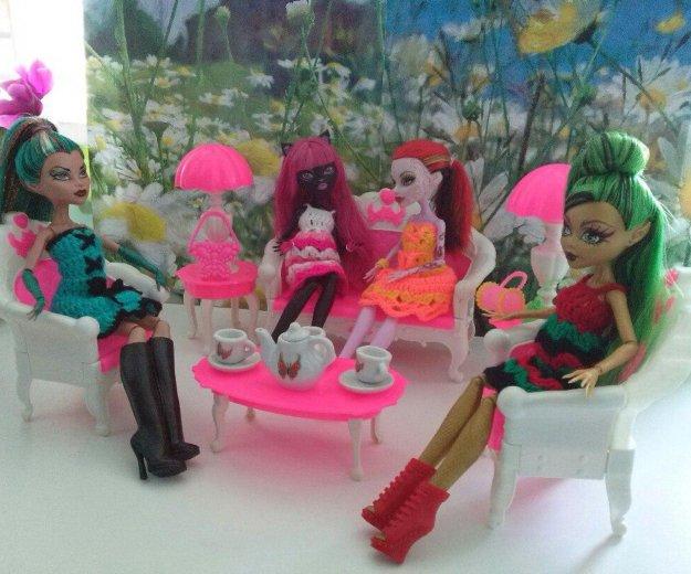 Мебель для кукол барби, monster high новая. Фото 3. Ижевск.