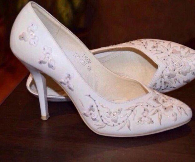 Туфли свадебные. Фото 1. Зверево.
