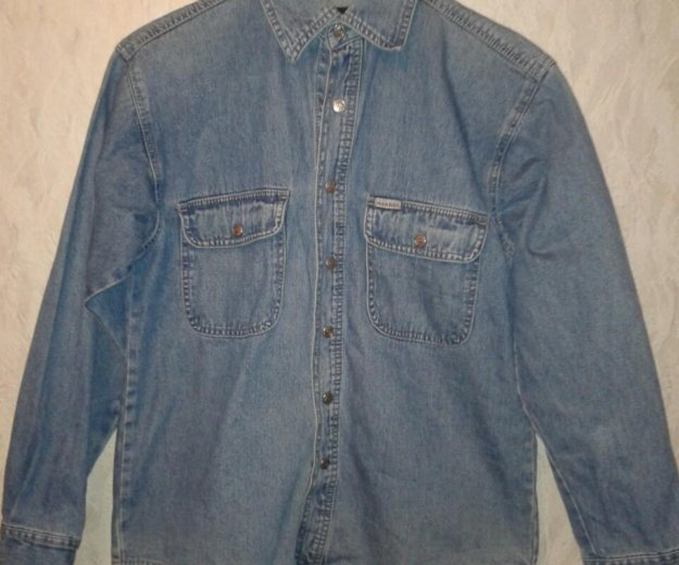 Рубашка джинсовая. Фото 1. Северодвинск.