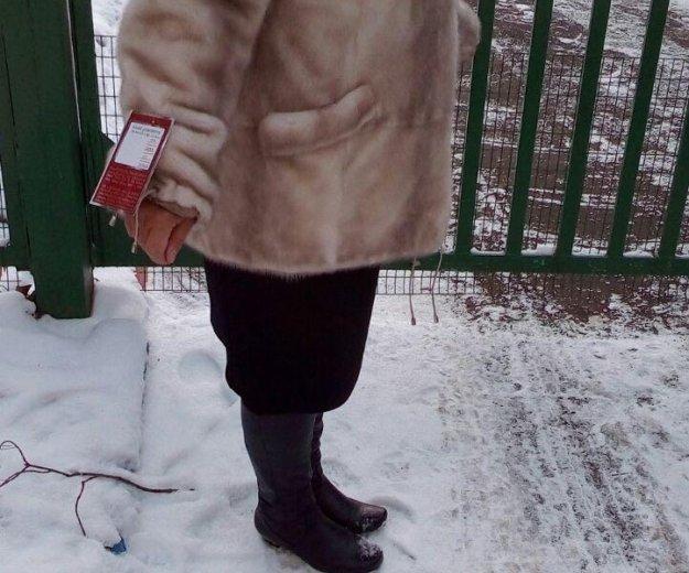 Норковая шуба новая. Фото 2. Москва.
