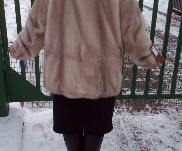 Норковая шуба новая. Фото 1. Москва.