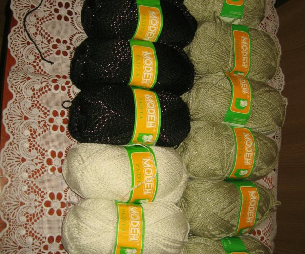 "Пряжа для вязания ""радуга"". Фото 1. Люберцы."