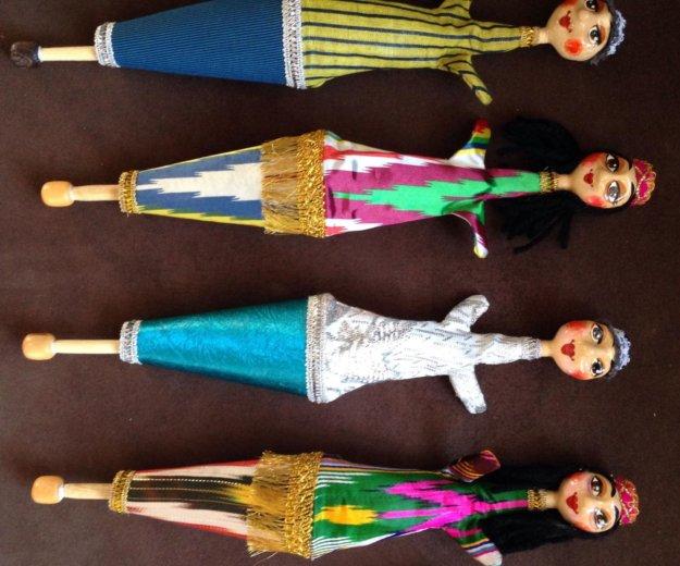 Куклы ручной работы. Фото 1.