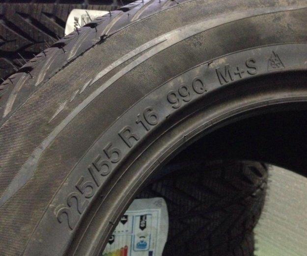 225/55/16 зимние шины. Фото 3. Мытищи.