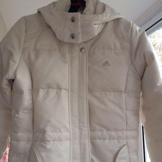 Женская зимняя куртка пуховик adidas. Фото 1. Москва.